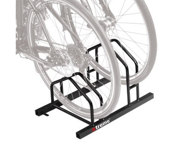 Xtreme bike stand ground erection schwarz