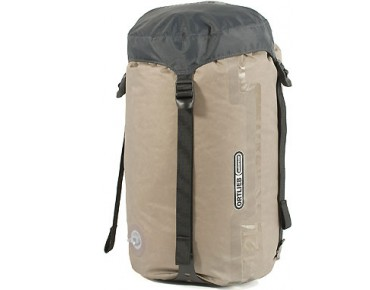 ORTLIEB compression pack sack with valve and strap dark grey