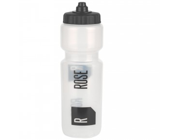 ROSE 800 ml drinks bottle transparent