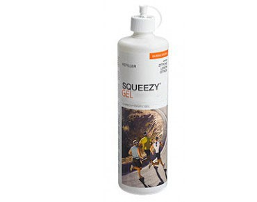 Squeezy gel refill bottle