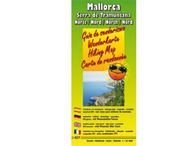 Publicpress Hiking map Mallorca