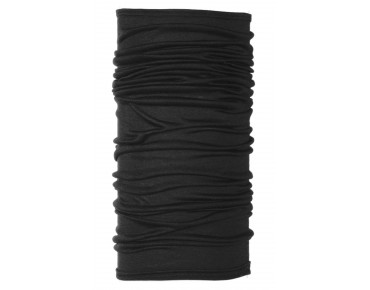 BUFF WOOL  Funktionstuch black