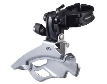 SHIMANO Deore FD-M591-3 - Standard - Umwerfer silber