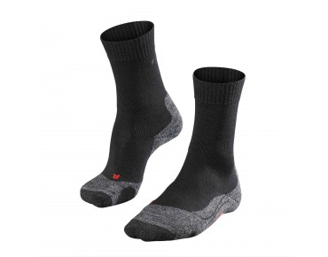 FALKE TK2 Socke black/grey