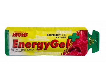 High5 EnergyGel Raspberry + Caffeine