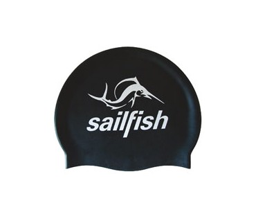 sailfish Silikon Cap swimming cap black