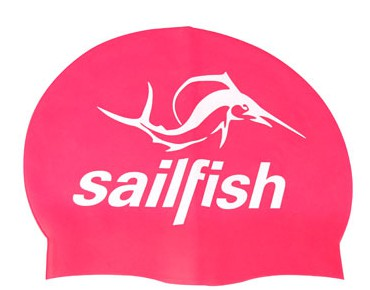 sailfish Silikon Cap swimming cap pink