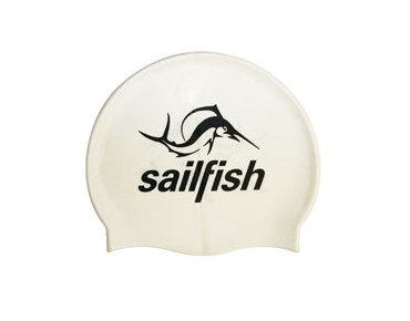 sailfish Silikon Cap swimming cap white