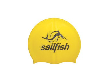 sailfish Silikon Cap swimming cap yellow
