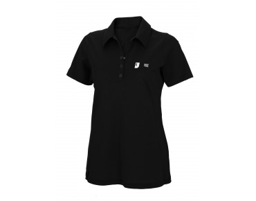 ROSE women's polo shirt black
