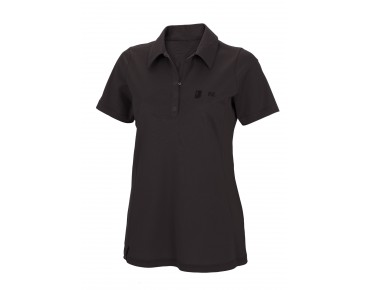 ROSE women's polo shirt coffee