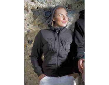 ROSE ladies hooded jacket MA coffee