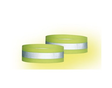 b-lite SAFE reflective band kit day-glo yellow