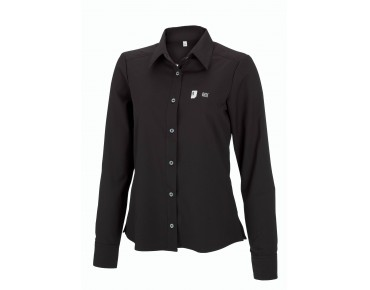 ROSE Damenbluse Langarm black