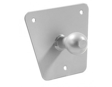 EUFAB wall holder for tow bar carriers