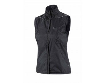 GORE BIKE WEAR COUNTDOWN WINDSTOPPER Active Shell Damen-Weste black