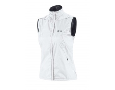 GORE BIKE WEAR COUNTDOWN WINDSTOPPER Active Shell Damen-Weste white