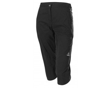 Löffler COMFORT CSL 3/4-length women's cycling trousers black