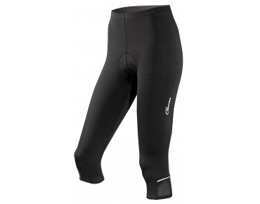 GONSO BELLA 3/4-length women's cycling tights black