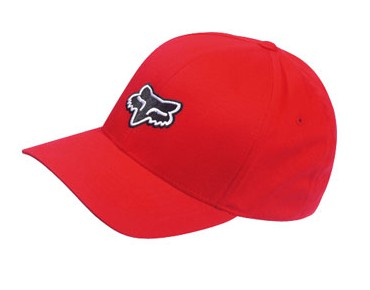 FOX LEGACY FLEXFIT cap red