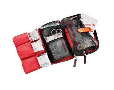 deuter FIRST AID KIT M red