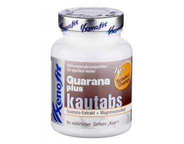 Xenofit Guarana plus chewable tablets chocolate/orange