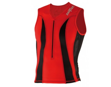 sailfish tri top COMPETITION red/black
