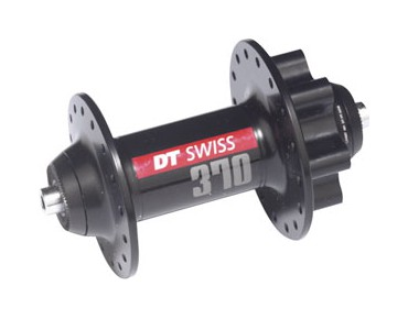 DT Swiss 370 disc MTB/ATB front wheel hub black