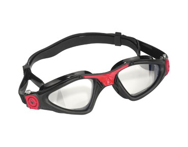 Aqua Sphere Kayenne goggles black-red/clear lens