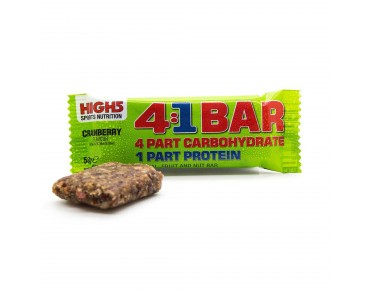 High5 4:1 Training Bar Riegel Cranberry
