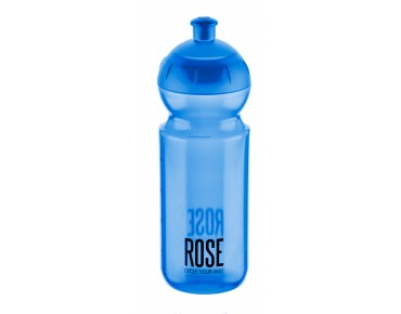 ROSE 500 ml drinks bottle blue/transp.