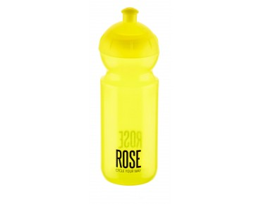 ROSE 500 ml drinks bottle yellow/transp.