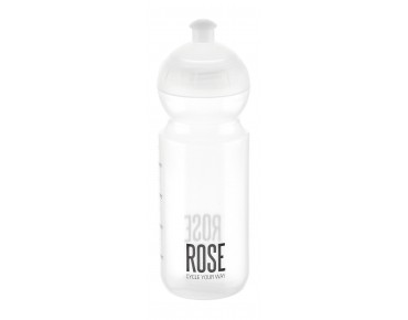 ROSE 500 ml Trinkflasche transparent