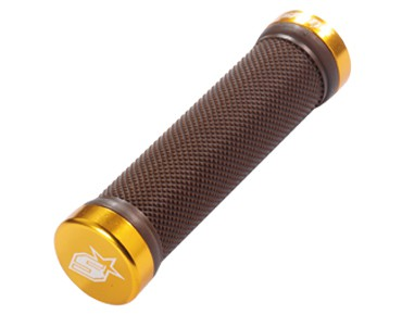Spank Lock On Grip grips brown