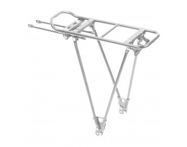 Racktime Fold-it carrier silver