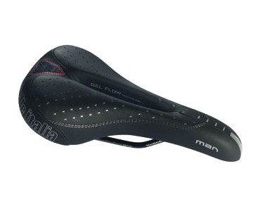 Selle Italia Man Gel Flow saddle black