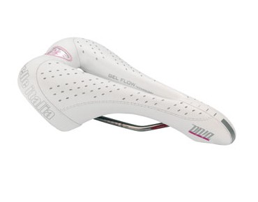 Selle Italia Diva Gel Flow saddle weiß