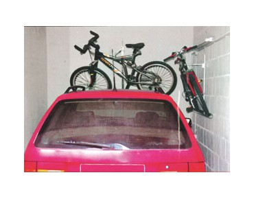 EUFAB wall mount bike rack