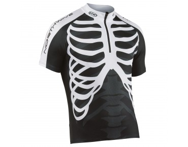 NORTHWAVE SKELETON jersey black/white