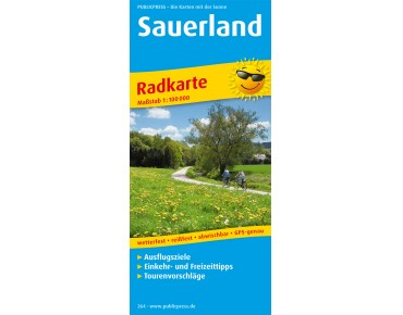 Publicpress Sauerland cycling map
