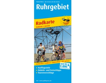 Publicpress Ruhrgebiet cycling map