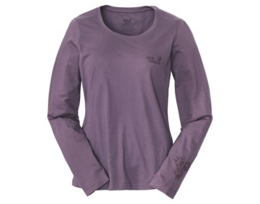 Jack Wolfskin TRIPAW LONGSLEEVE WOMEN blueberry cream