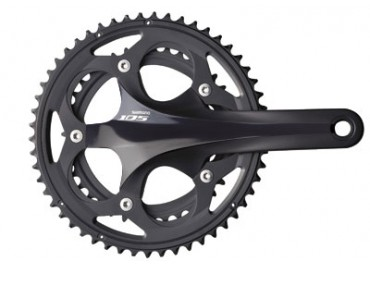 SHIMANO 105 FC-5700 Hollowtech II crankset black
