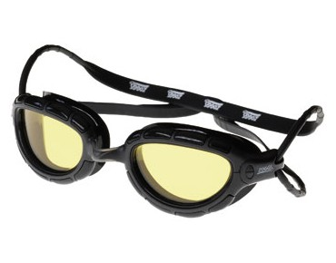 Zoggs Predator swimming goggles black/yellow lens