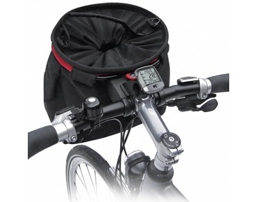 KLICKfix accessories holder for handlebar adapter black