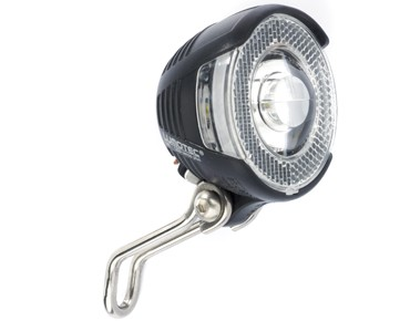 B + M Lumotec Lyt senso plus front headlamp black