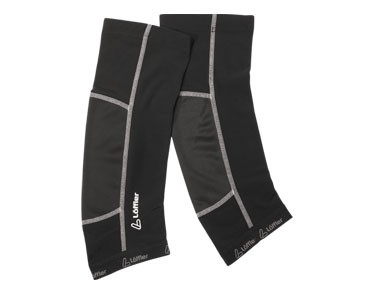 Löffler WINDSTOPPER knee warmers black
