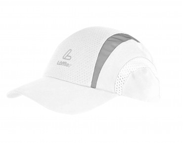 Löffler RUNNING sports cap weiß