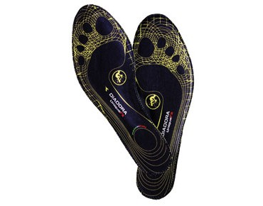 DIADORA customisable insoles UNIQUE FIT schw./gelb