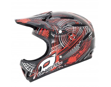 O´NEAL Vollvisierhelm BACKFLIP black/red